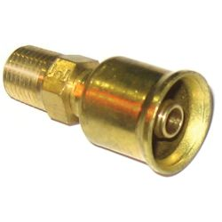 Crimp Fit NPTF Fuel Hose Fittings