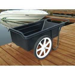 DOCK CART 300LBS  POLY BODY AIRTIRE