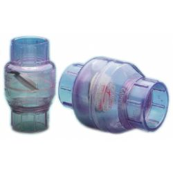 2IN CLEAR PVC SWING CHECK VALVE