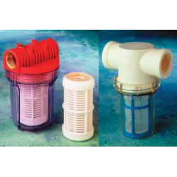 3/4IN INLET STRAINER, NYLON BASKET
