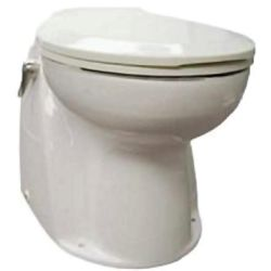 12 VOLT ATLANTES TOILET  WHITE