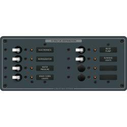 DC 8 Position Circuit Breaker Panel