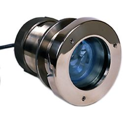 4IN 12V HALOGEN SS UNDERWATER LIGHT