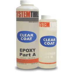 Clear Coat System Three Resins Fisheries Supply
