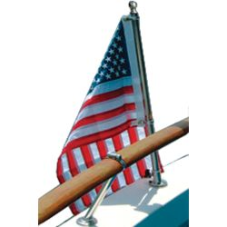 Stainless Steel Flag Pole Set