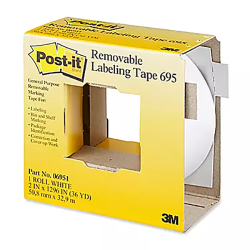 2IN WHT POST-IT LABELING TAPE (36YD)