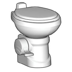 BONE TRAVELER 210 GRAVITY TOILET