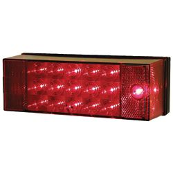 LED LOW PROFILE TAIL LAMP 8X3IN