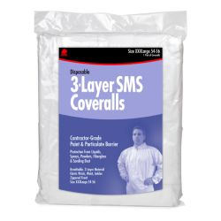 SMS COVERALL HOODED XL