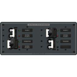 3 Sources Selector⁄AC Main Circuit Breaker Panel