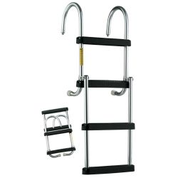Removable Folding Pontoon Boarding Ladder