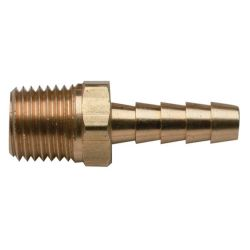 BRS BARB 1/8IN NPT X 5/16IN HOSE