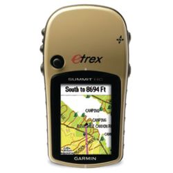 E TREX SUMMIT HC HAND HELD GPS