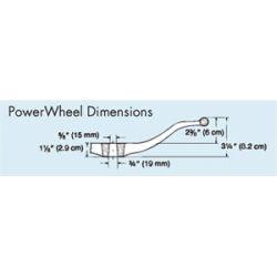 Stainless ComfortGrip™ PowerWheel