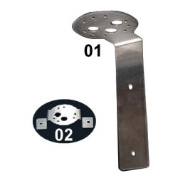 Navigation Light Brackets