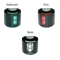 12/24V BLK SERIES 43 LED LIGHT PORT