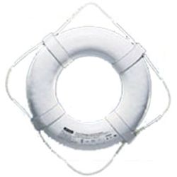 RING BUOY, USCG APVD. 19IN WHITE