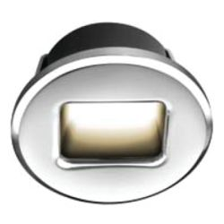 Ember Series - Round LED Courtesy Light
