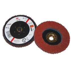 4.5IN 36Y FLAP DISC 747D 5/8-11 FEMALE