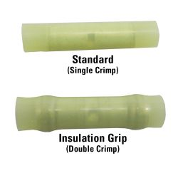 Butt Splices - with Insulation Grip