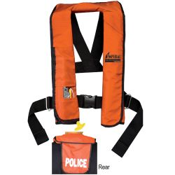 Imperial Commercial Inflatable PFD - Manual with Agency ID Back Flap