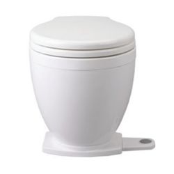 24V LITE FLUSH TOILET W/FOOTSWITCH