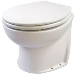 24V 14IN DLX FLUSH TOILET VERT/RAW H2O