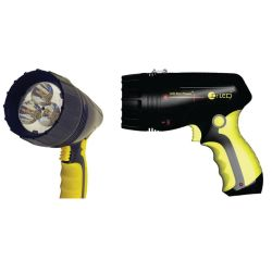 LED Star Phaser - Searchlight w⁄Laser Pointer