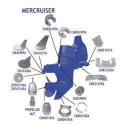 Mercruiser Anode Kits - Aluminum
