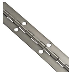 2IN X 6FT STAINLESS PIANO HINGE