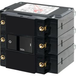 AC C-Series Flat Rocker Triple Pole Circuit Breakers