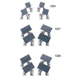 SET OF 4 SWVL CHOCKS 4INX7IN REMOVE