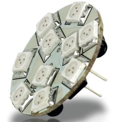 10 LED G-4 Bulb - Back Pin
