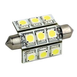 9 LED Festoon Bulb
