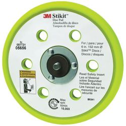 6IN D/F STIKIT LOW PROFILE BACKING PAD