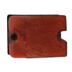 STUD MOUNT AMBER OVER 80 SIDE LIGHT