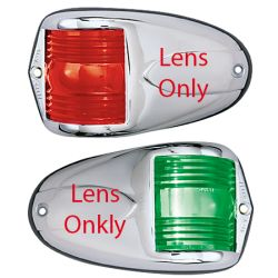 SIDELIGHT LENS SET RED/GRN