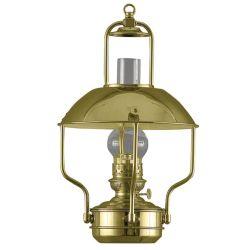 POL BRASS CLIPPER OIL LAMP