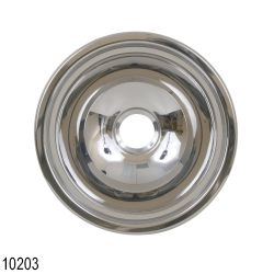 SS ROUND SINK 13-3/16IN X 6IN