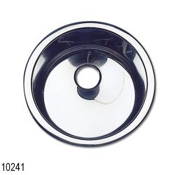 SS CINDRICAL SINK 12-1/-1/-3/4IN
