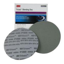Trizact Hookit P1000 Pre-Paint Foam Sanding & Blending Disc