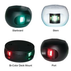 Series 34 LED Navigation Lights - 12/24 Multi-Voltage