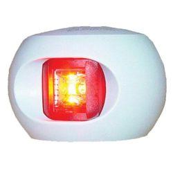 Aqua Signal Series 34 LED Navigation Lights - Port Side, White Housing
