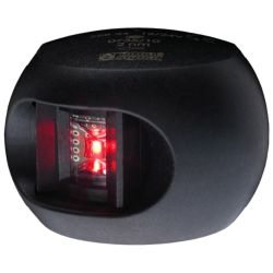 Aqua Signal Series 34 LED Navigation Light Port Side, Black Housing