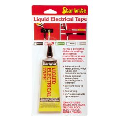 1OZ CLR LIQUID ELECTRIC TAPE
