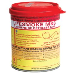 No Longer Available: MK8 SOLAS Orange Lifesmoke Canister