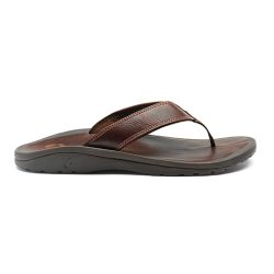 MNS OHANA LEATHER SANDAL JAVA JAVA 10