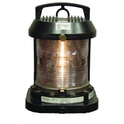 Aqua Signal Series 70 Single Lens Commercial Navigation Light - Stern, Yellow