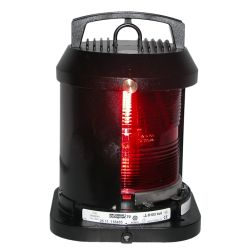 Aqua Signal Series 70 Single Lens Commercial Navigation Light - Port