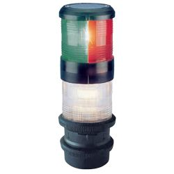 Series 40 Sailboat Navigation Light, Tri-color/Anchor/Strobe